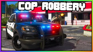 GTA 5 Roleplay - FAKE COP ROBBING STORES | RedlineRP