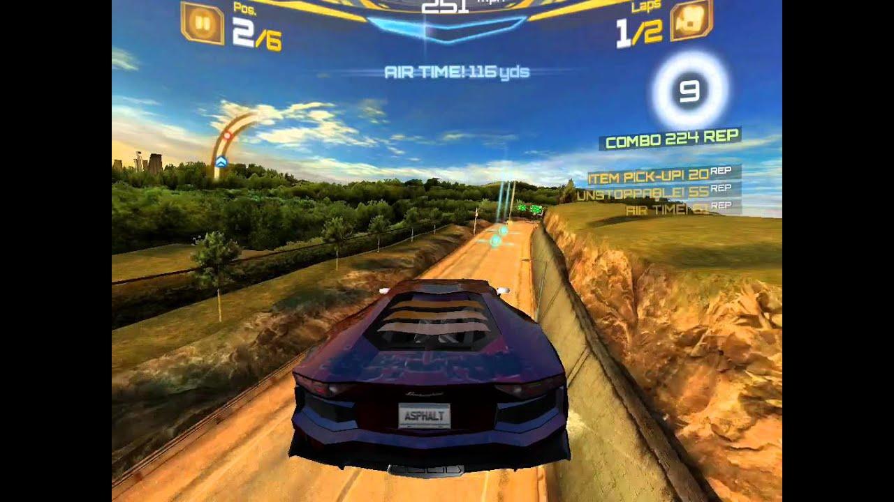 Asphalt 7 Heat Lamborghini Aventador Gameplay Old Youtube