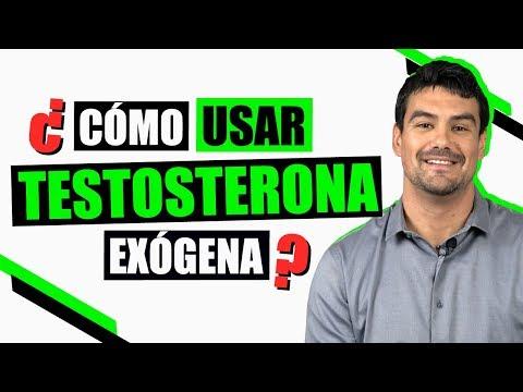 Testosterona De Forma Exgena: Cmo y Cundo Usarla