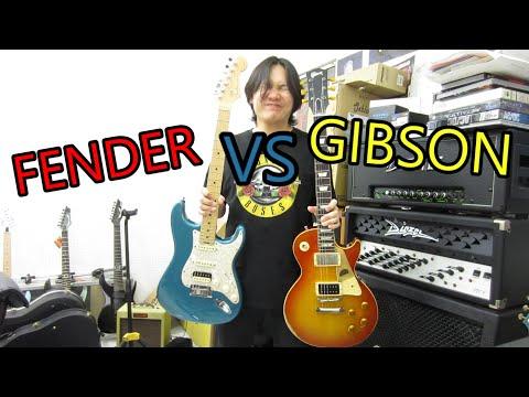 FENDER VS GIBSON เสียงต่างกันยังไง จัดไปเลยจ้า