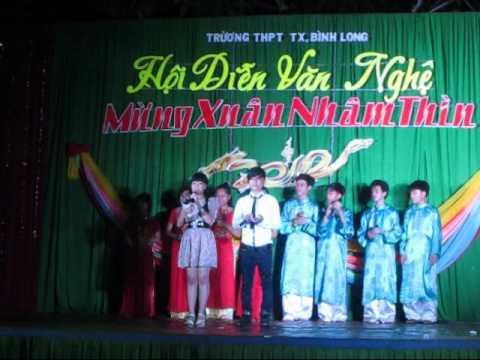 Khai mạc đêm diễn văn nghệ - THPT TX Bình Long