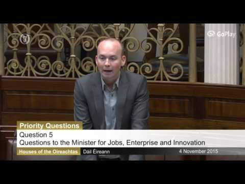 Paul Murphy TD raises Gateway protest and worker exploitation in the Dail