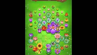 Blossom Blast Saga Level 131 No Boosters