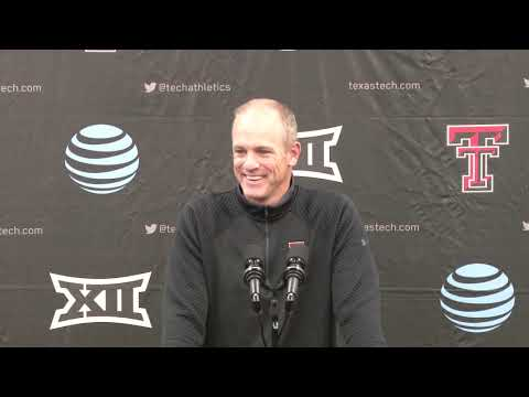 Texas Tech Football 2020 Signing Day: Coach Wells Press Conference| 2019