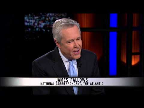 Real Time with Bill Maher: James Fallows Interview (HBO)