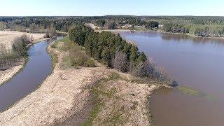 Jalantijärvi - Lumijokisuisto, Pirkanmaa Finland @Phantom 4 pro -4k