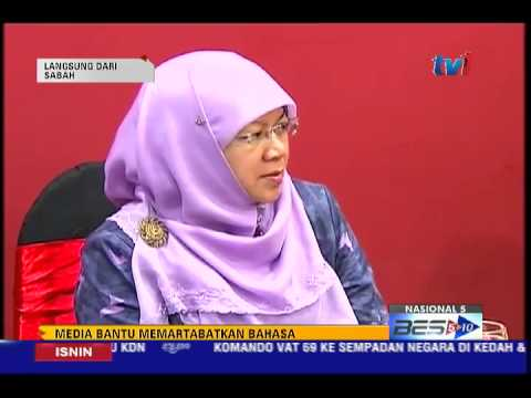 MEDIA BERPERANAN PENTING BANTU MEMARTABAT BAHASA DBP [18 MEI 2015]