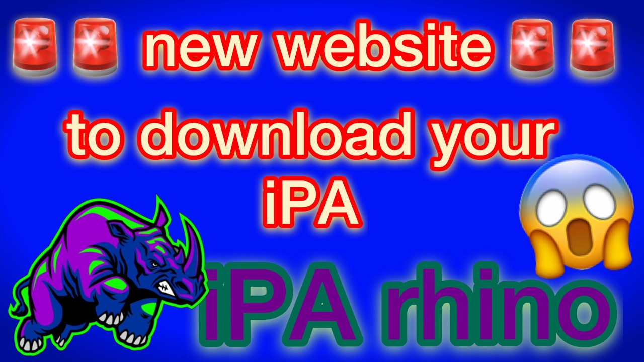 iPA Rhino - New website to get iPA files , get Tweak++, hacked app, Paid  apps for FREE by JERA NETWORK