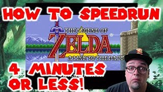 SPEEDRUN TRICK How To Beat The Legend Of Zelda A Link To The Past In 4 Minutes Or Less SNES Classic