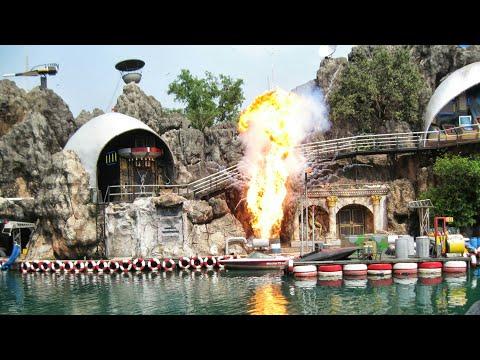 The Spy War Show From Safari World Bangkok World famous  Thailand's Action stunt show