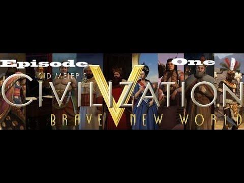 Civilization V: BNW Aztecs Culture Domination Ep 1