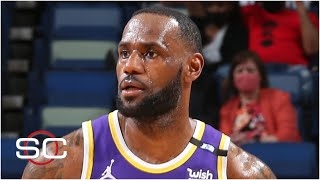 How LeBron's ankle injury could impact the Lakers' chances in the play-in tournament | SportsCenter