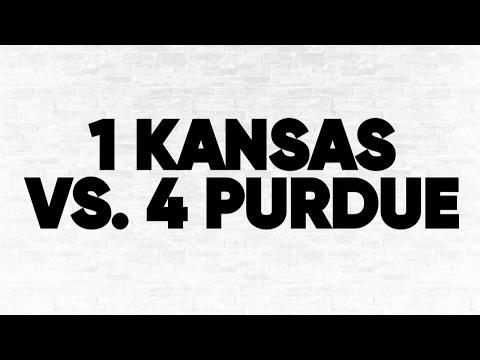 (1) Kansas vs. (4) Purdue