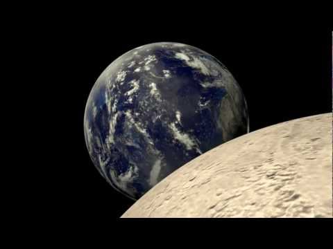 Earth and Moon Animation - Pics about space