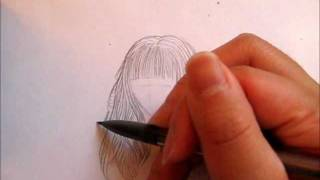 How to draw Dolly Hair (Waves and Bangs)