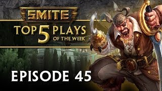 Repeat youtube video SMITE - Top 5 Plays #45