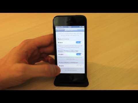 iPhone - Proteggere le foto private su iPhone con ProtectPhotos