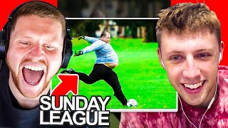 SIDEMEN REACT TO SUNDAY LEAGUE BEST MOMENTS