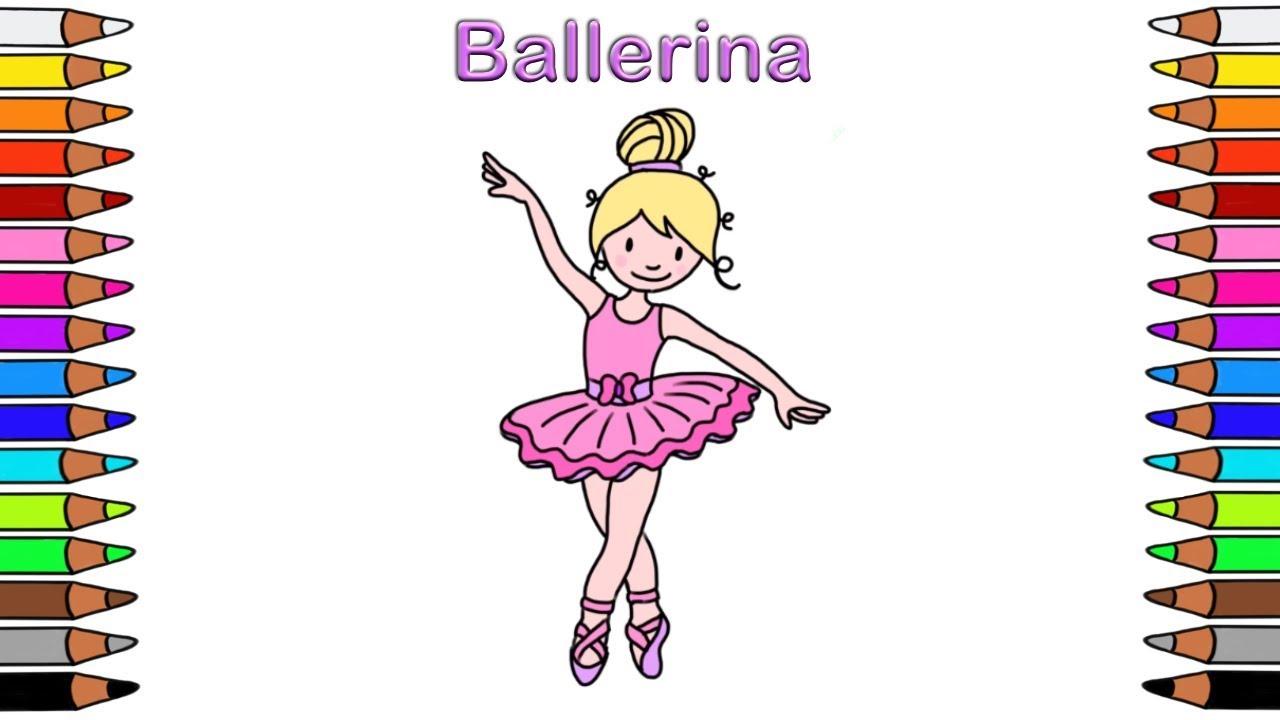 Ausmalbilder Für Kinder Malbuch Für Kinder Malen Für Kinder Ausmalbilder Ballerina