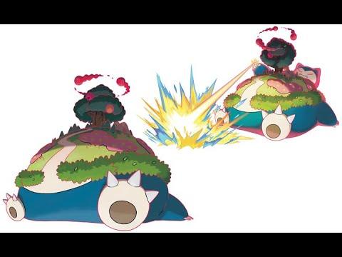 《寶可夢劍盾》對戰精靈用法分析-05.卡比獸.カビゴン.Snorlax