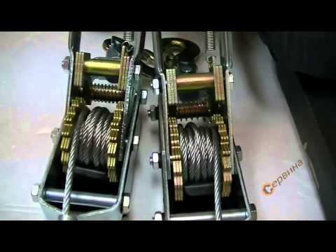 видео: Лебедка с въже 3500кг. frame 97x082 vs orient kw04