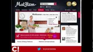 Conversionista Case Study - Mathem
