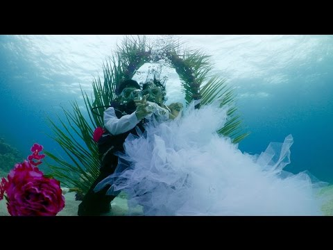 Underwater wedding Mauritius Diamond Package