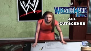 WWE Wrestlemania 19 - Revenge Mode - All Cutscenes + Ending