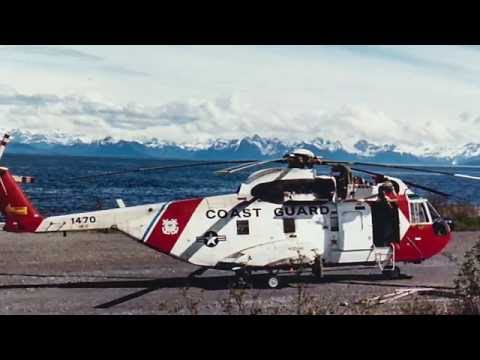 US Coast Guard HH-3 training flight - AVSUPFAC Cordova Alask