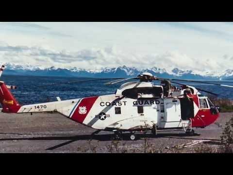 US Coast Guard HH-3 training flight - AVSUPFAC Cordova Alaska - (1989)