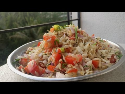 Instant Poha Chivda | Poha Bhel | Healthy Indian Breakfast with Flattened Rice