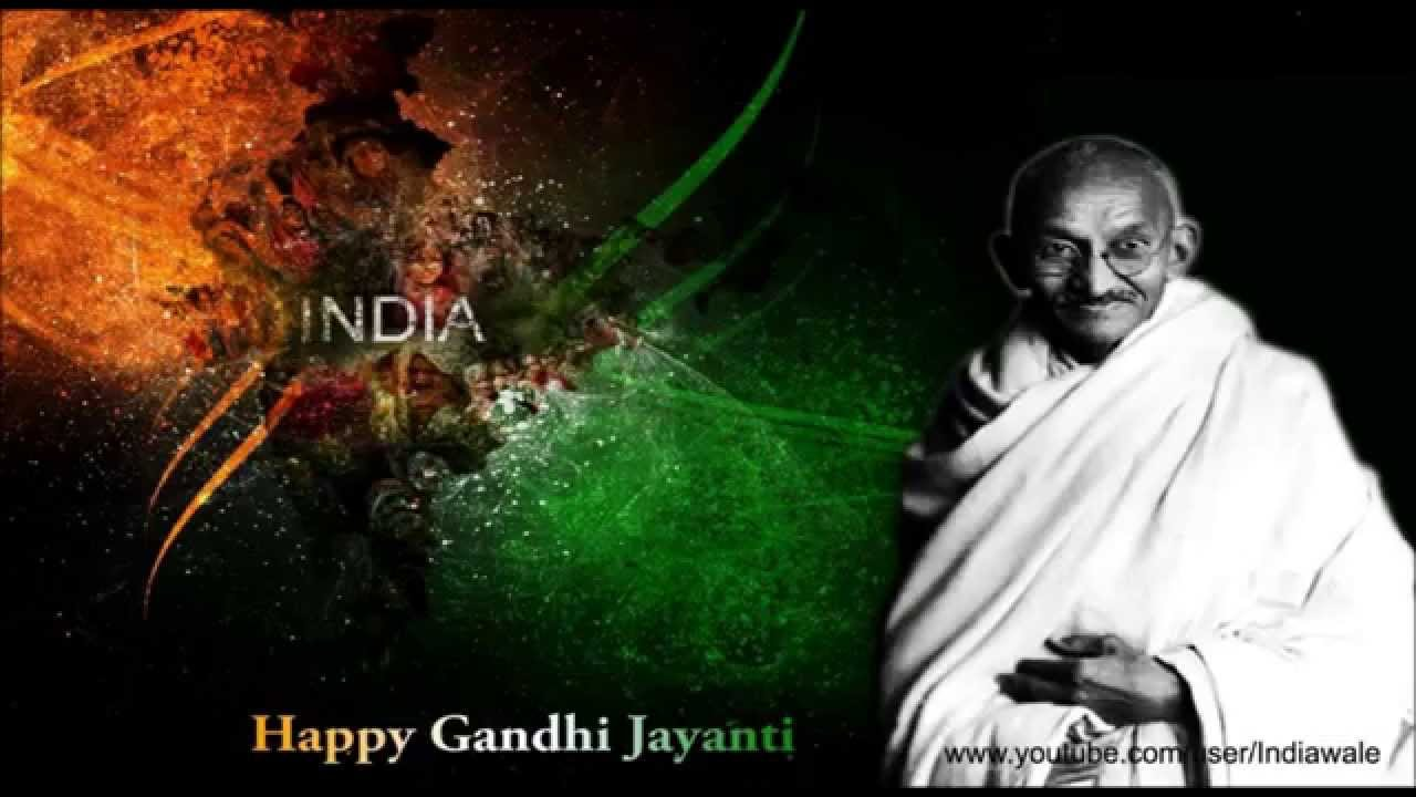 Happy Gandhi Jayanti 2016 Sms Wishes Greeting Card Quotes