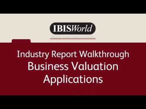 IBISWorld for Business Valuation - Industry Product