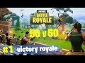 50v50 MODE! - Fortnite Battle Royale Gameplay