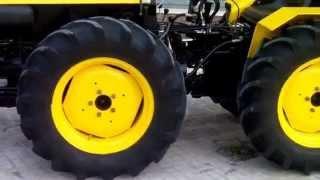 Tractor BJR F5000. Restauracion acabada. HD.