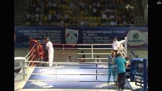 Антон Пинчук (Казахстан) - Сергей Радченко (Украина) до 91 кг.