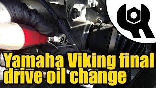 1815 yamaha viking tuff torq final drive oil change