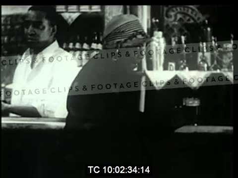 Bessie Smith sings St Louis Blues in 1920s Harlem bar