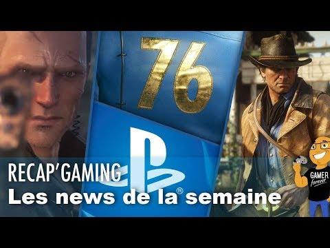 FALLOUT 76 / PlayStation / Red Dead Redemption 2 / Battlefield V / Left Alive / etc ...
