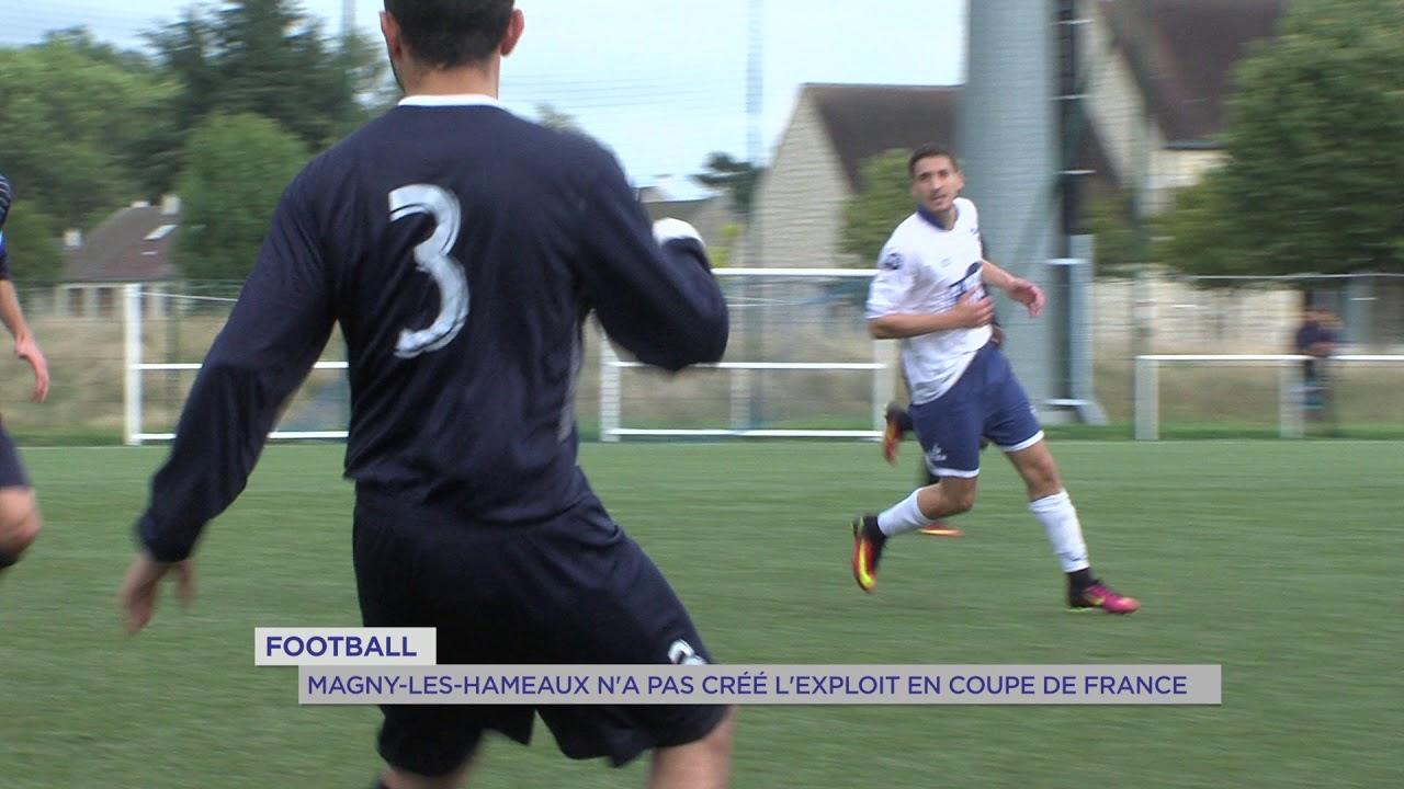 Football : Magny-les-Hameaux n'a pas crée l'exploit en Coupe de France