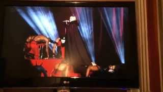 "Madonna ""living for love"" epic fall during Brits 2015 live performance!!"