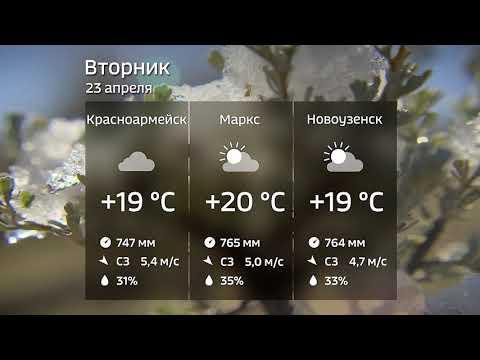 Прогноз погоды на 23 апреля 2019