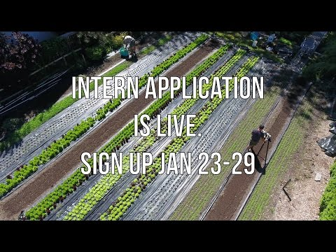 Intern Application is live. Sign up Jan 23-29!