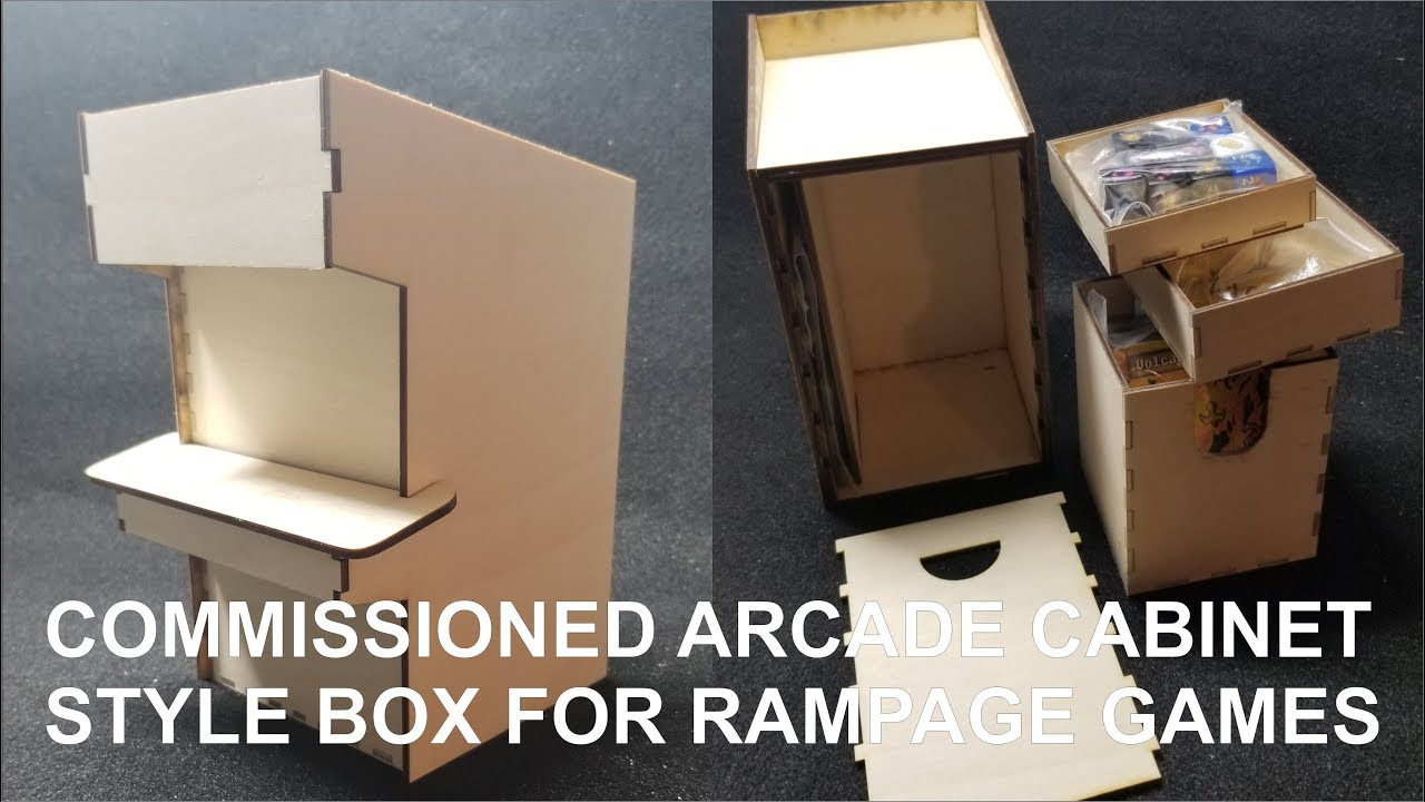 Commissioned Arcade Cabinet for Rampage Games newest game Galaxy Dice   Assembly Tutorial