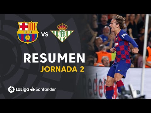 Resumen de FC Barcelona vs Real Betis (5-2)