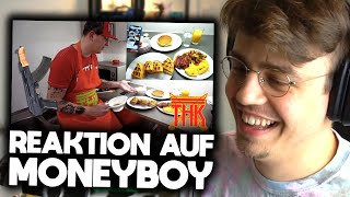 Papaplatte reagiert auf MONEYBOY KOCHT! 😂🥞 | Papaplatte Highlights
