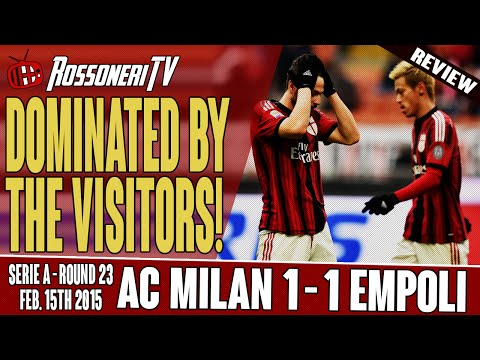 Dominated By The Visitors! | AC Milan 1 Empoli 1 | MATCH REVIEW
