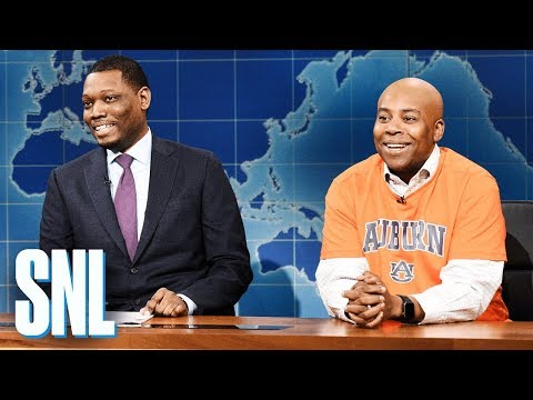Weekend Update: Charles Barkley on the 2019 NCAA Final Four - SNL