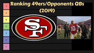 49ers & Opponents QBs Ranking 2019 | NFL Tier List