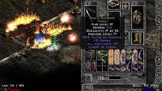 Diablo 2 - Kira's Guardian Drop - Holy Grail (201 out of 502) - Good Item